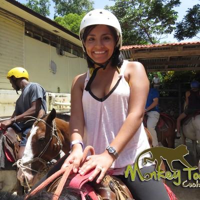 horse ride adventure Costa Rica mountains