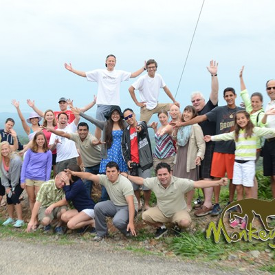 guided Costa Rica tour group Monteverde