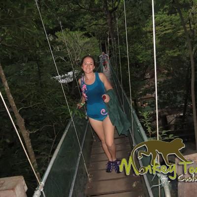 Hot spring adventure jungle Guanacaste