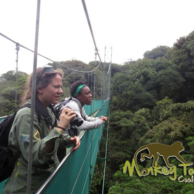 hanging bridges Monteverde cloud forest Costa Rica