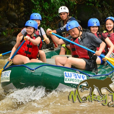 balsa rafting expedition tour costa rica