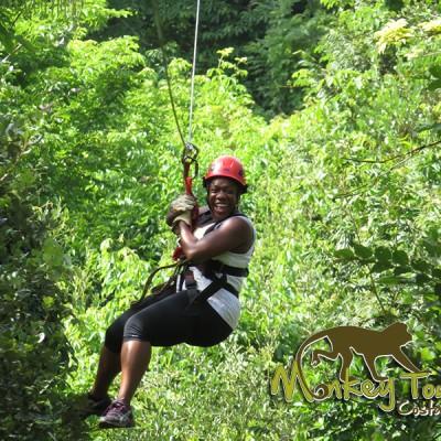 fun ziplining jungle Costa Rica