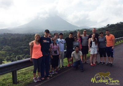 Arenal Volcano guided tour group Costa Rica & Nicaragua Tour 60