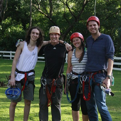 Zipline Adventure in Borinquen Rincon de la Vieja Costa Rica and Nicaragua Guided Trip 56