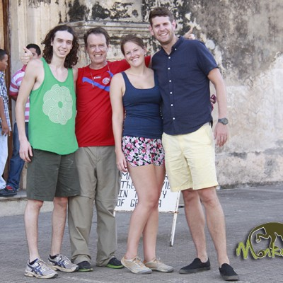 escorted tour group Granada Church Costa Rica and Nicaragua guided adventure trip 56