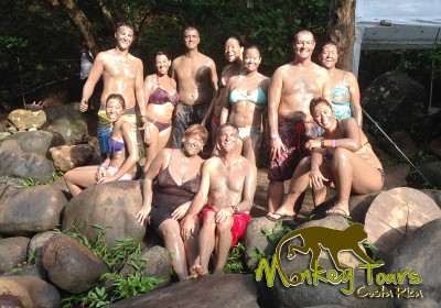 mud bath tour Guanacaste Hacienda Guachipelin Costa Rica Tour 120