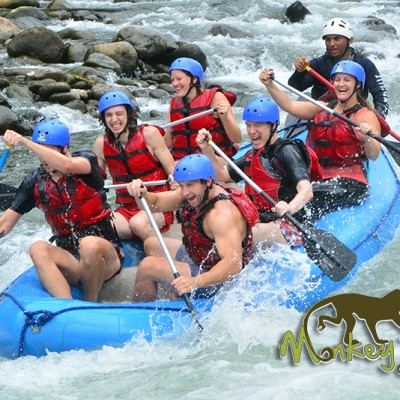 White Water Rafting Balsa river Arenal Guanacaste Costa Rica and Nicaragua Tour 56