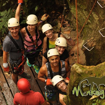 Rock Climbing Tour Hacienda Guachipelin Costa Rica Escorted Getaway 125