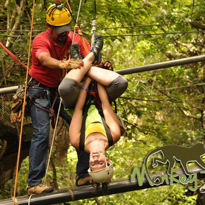Adrenaline Tour Rappel Hacienda Guachipelin Costa Rica Escorted Adventure 125