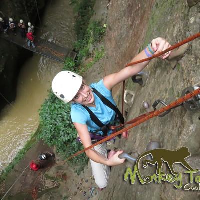 Rock Climbing Rincon de la Vieja Hacienda Guachipelin Costa Rica Adventure Getaway 117