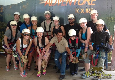 guided tour ziplining adventure Rincon de la Vieja Costa Rica Tour 121