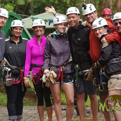 Sky Trek zipline Monteverde Costa Rica Tour 119