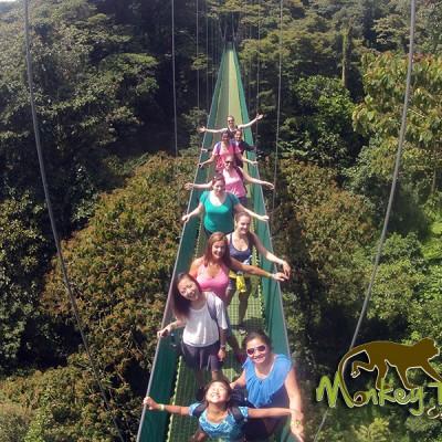 Guanacaste Hanging Bridges Monteverde sky walk Adventure Costa Rica Tour 115