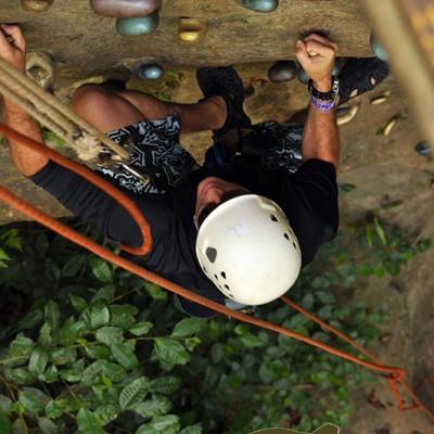 Rock Climbing Hacienda Guachipelin Costa Rica Getaway 123