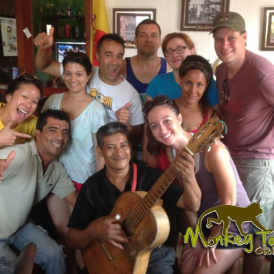 tour group enjoying vacations Costa Rica and Nicaragua Tour 66
