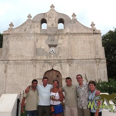 Tour Group Nicoya Church Guanacaste Costa Rica Getaway 126