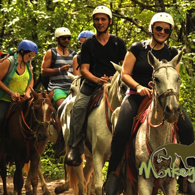 Horseback Riding Tour Hacienda Guachipelin Costa Rica Escorted Expedition 125
