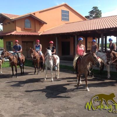 Borinquen guided tour Horseback riding Costa Rica and Nicaragua Tour 66