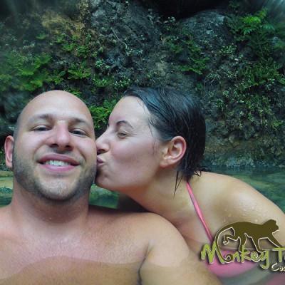 Hot Springs Fun Hacienda Guachipelin Guanacaste Rincon de la Vieja Costa Rica Escorted Tour 124