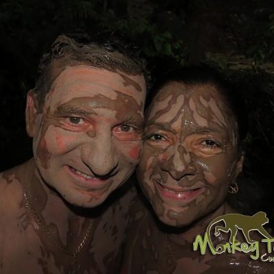 Mud Bath Rincon de la Vieja Hacienda Guachipelin Costa Rica Getaway Adventure 126