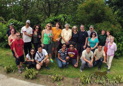 Happy Escorted Tour Group Picture Costa Rica and Nicaragua Trip 69