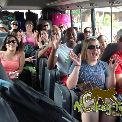 Tour Group Fun in Bus Costa Rica and Nicaragua Getaway Adventure 70