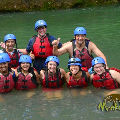 Balsa river rafting Arenal Guanacaste Costa Rica and Nicaragua Tour 66