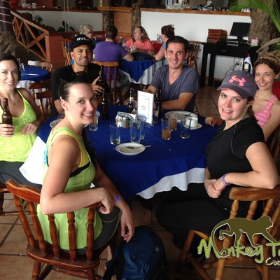 Travel Group at Borinquen Restaurant Rincon de la Vieja Guanacaste Costa Rica Tour 125
