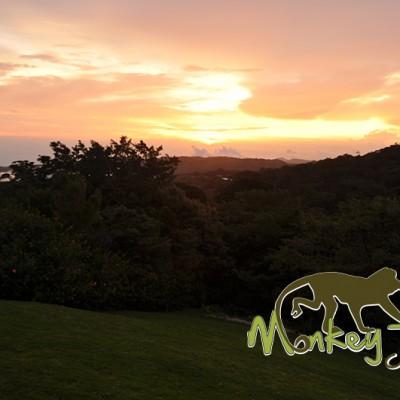 Sunrise in Monteverde Hotel El Establo Costa Rica Adventure Trip 118