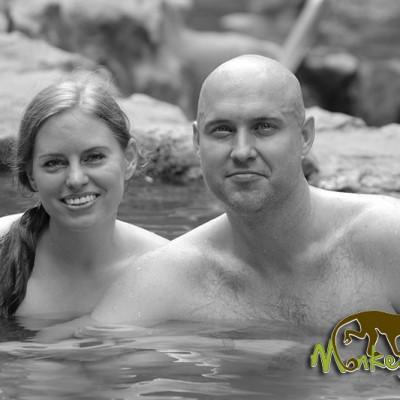 hot springs Rincon de la Vieja Hacienda Guachipelin Costa Rica Tour 121