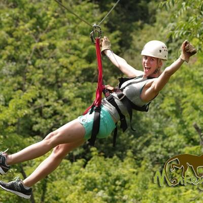 Zip line jungle Rincon de la Vieja Costa Rica Tour 119