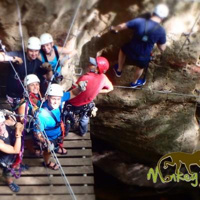 Rock Climbing Adventure Rincon de la Vieja Hacienda Guachipelin Guanacaste Costa Rica Tour 121