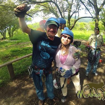 Zip line Borinquen Rincon de la Vieja Costa Rica and Nicaragua Guided Traveling