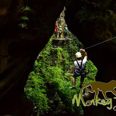 Ziplinig Hacienda Guachipelin Costa Rican Adventure Tour 132