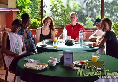 Breakfast at Hacienda Guachipelin Rincon de la Vieja Costa Rica Trip 127
