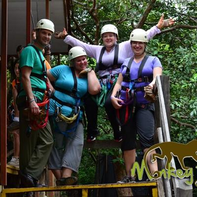 Zipline Canopy Rincon de la Vieja Costa Rica Escorted Trip 133