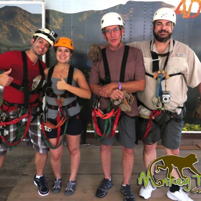 Ready for Zipline Hacienda Gusachipelin Costa Rica Adventure Tour 129