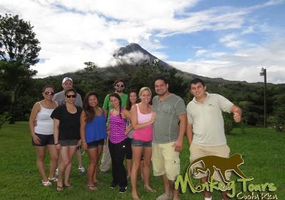 Arenal Volcano Tour Group Costa Rica Getaway Trip 134