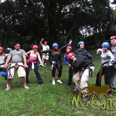 Zipline Gear Hacienda Guachipelin Costa Rican Escorted Tour 134