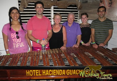Guided Tour Group Hacienda Guachipelin Marimba Costa Rica Getaway 136