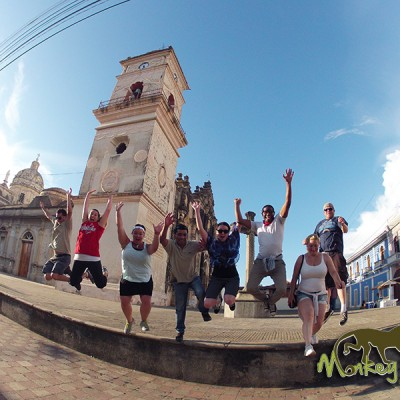 Granada Church guided tour group Costa Rica & Nicaragua Adventure Tour 72