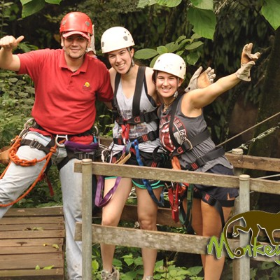 Zipline Guide Hacienda Guachipelin Adrenaline Costa Rica Getaway Adventure 128
