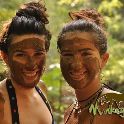 Mud Bath Hacienda Guachipelin Costa Rica Guided Travel 128
