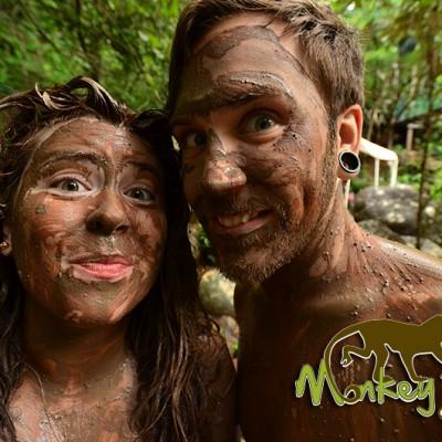 Mud Bath Hacienda Guachipelin Costa Rica Escorted Trip 132