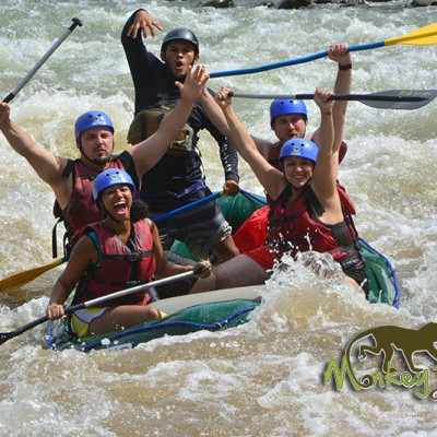 Rafting Arenal Balsa River Guanacaste Costa Rica Guided Adventure Trip 61