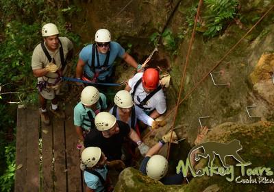 Rock Climbing Hacienda Guachiplein Costa Rica Trip 130