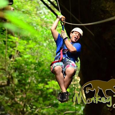 Zipline Tour Hacienda Guachipelin Costa Rica Getaway 134