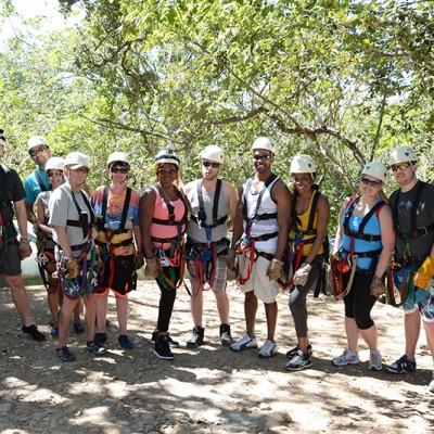 Ziplining Hacienda Guachipelin Rincon de la Vieja Canopy Costa Rica Getaway Travel 155
