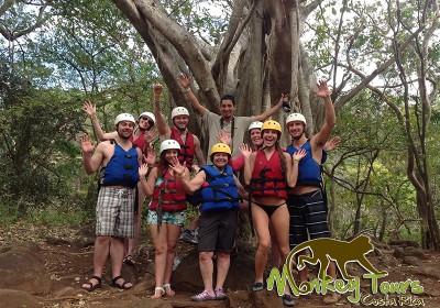 Hacienda Guachipelin Tubing Adventure Rincon de la Vieja Costa Rica Tour 152