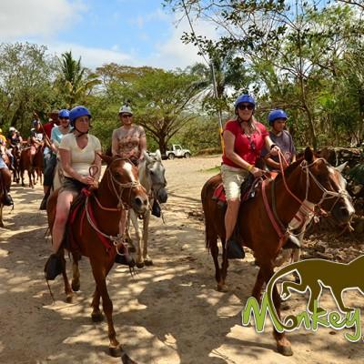 Horseback Riding Hacienda Guachipelin Rincon de la Vieja Costa Rica Tour 154